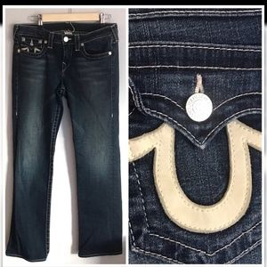 True Religion|32|Billie straight denim jeans👖